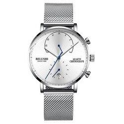 CandyCat 2020 nowy modny zegarek męski wielofunkcyjny sportowy zegarek kwarcowy wodoodporny Trend Nordic atmosferyczny męski