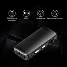 Mini câmera 1080p hd dv profissional, gravador de vídeo com voz digital, pequena marca de micro som xixi spy dictaphone secret