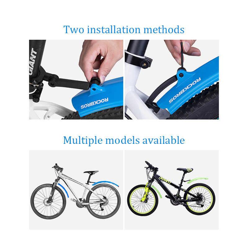 Telescopic Mudguard Fender Portable Retractable Plastic Universal Taillight