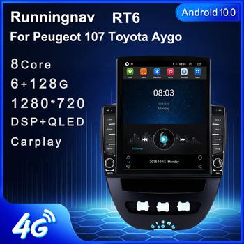 Runningnav dla Peugeot 107 Toyota Aygo Tesla typ Radio samochodowe z androidem multimedialny odtwarzacz wideo nawigacja GPS tanie i dobre opinie CN (pochodzenie) podwójne złącze DIN NONE 9 7 45*4 W plastic 1024*600 bluetooth Wbudowany GPs Odtwarzacze mp3 Tuner radiowy