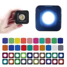 Ulanzi estúdio luz senyar conduziu a luz de vídeo, l1 pro à prova dlágua mini luz led ip67 10m embutido bateria de lítio foto luz