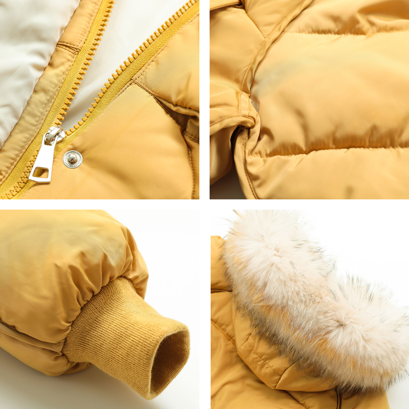 KMVEXO 2019 New Arrival Women Winter Jacket With Thicken Fur Hooded Cotton Padded Female Solid Parka Warm Coat Ladies in Parkas from Women 39 s Clothing