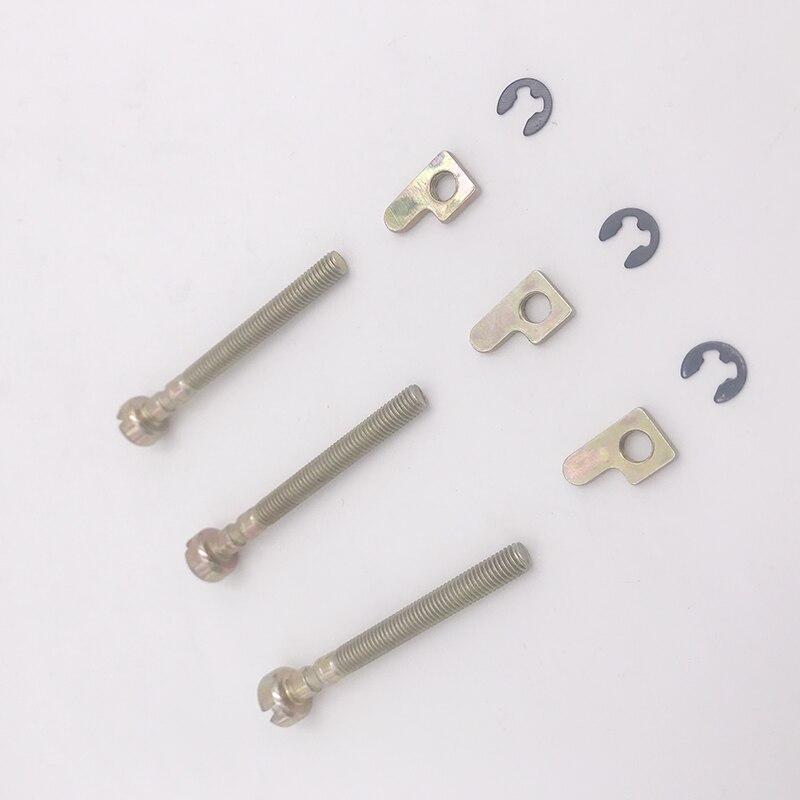 3Pcs/lot Bar Chain Adjuster Tensioner Screw Kit For HUSQVARNA 36 41 136 136LE 141 141LE 137 137E 142 142E 235 240 Chainsaw Parts