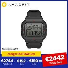 NEUE 2020 Amazfit Neo Smart Uhr Bluetooth Smartwatch 5ATM Tracking 28 Tage Batterie Lebensdauer Uhr Für Android IOS Telefon
