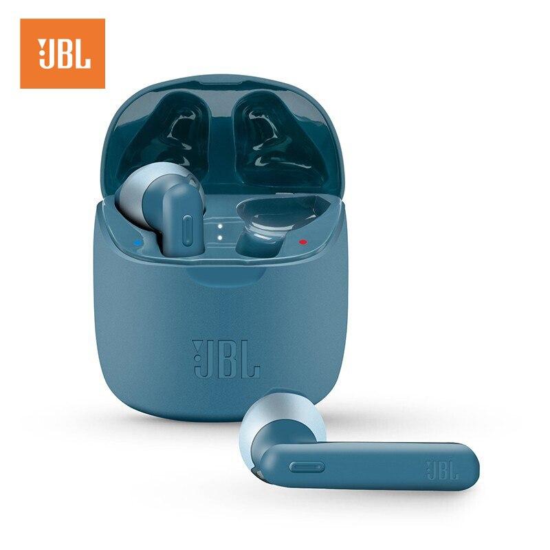 JBL Мелодия 225TWS True Беспроводной Bluetooth наушники T225TWS Шум снижение стерео наушники Bass звук наушники с микрофоном