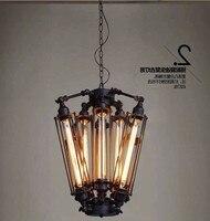 Loft nowoczesna lampa wisząca srebrna złota szklana kula wisząca lampa Hanglamp oświetlenie kuchni oprawa jadalnia salon oprawa w Wiszące lampki od Lampy i oświetlenie na