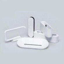 Youpin สมาร์ทเครื่องมือ HL ผู้ถือสบู่ตะขอกล่องโทรศัพท์สำหรับห้องน้ำห้องอาบน้ำเครื่องมือ 5pcs