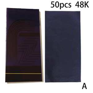 Paper-Supplies Carbon-Paper Office Blue Thin E1L2 50pcs Stationery-Type 48K 32K 16K Double-Sided