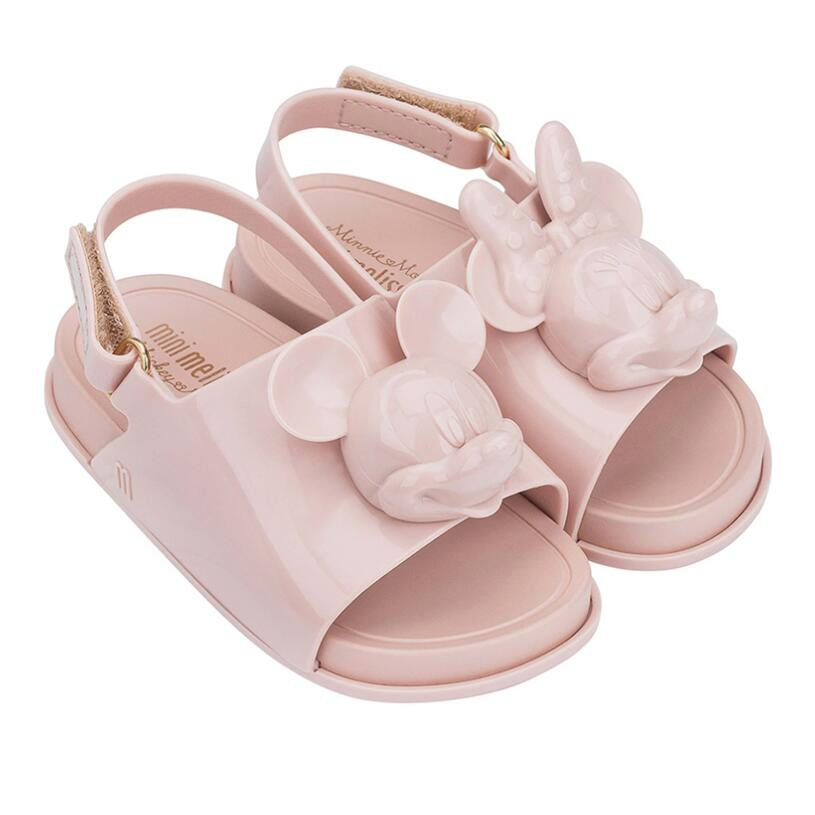 Mini Melissa Cosmic Sandal Mickey Head Girl Boy Jelly Shoes Sandals 2020 Baby Shoes Melissa Sandals Non-slip Kids Shoes Sandals