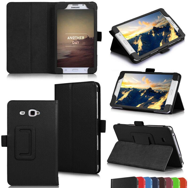 Магнитный чехол-подставка для Samsung Galaxy Tab A A6 7,0 2016 дюйма, умный чехол из искусственной кожи с функцией автоматического сна для Samsung T280