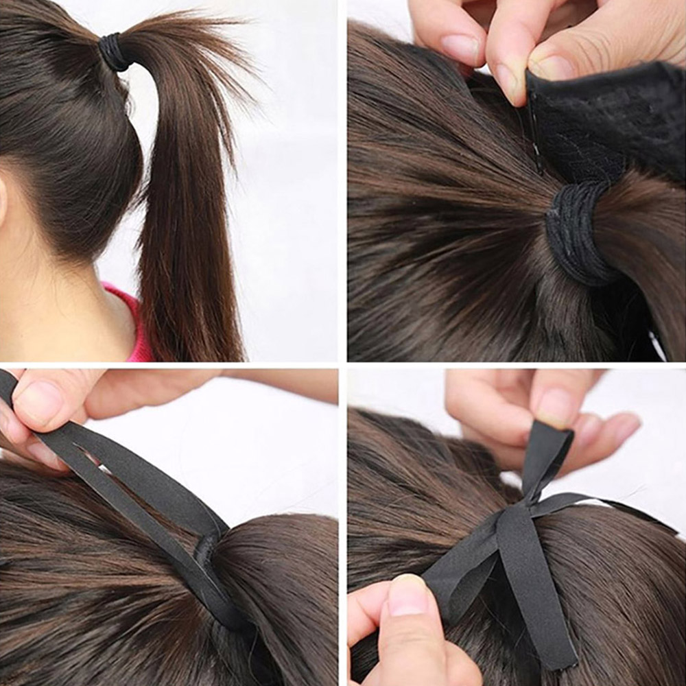 Big SaleSynthetic Ponytail Hair-Extensions False-Hair-Pieces Braid Straight-Box Clip-In Ž
