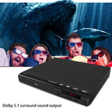 DVD Player Home DVD Player With AV Cable for TV Multi Region DVD Player With Remote Control