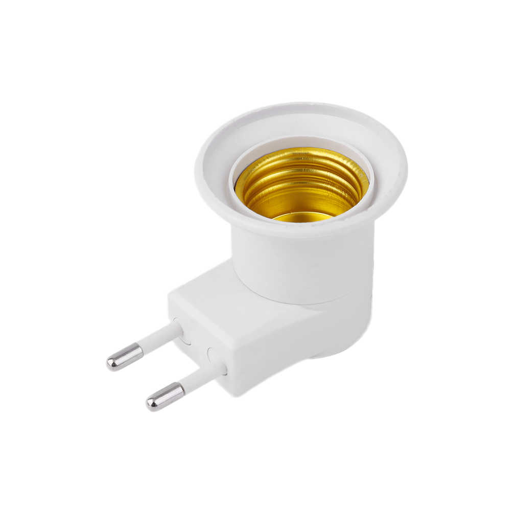 E27 Base Socket Nachtlampje Lamp Socket Adapter Met Power On-Off Schakelaar Lampvoet Socket Professionele 2017 Hot