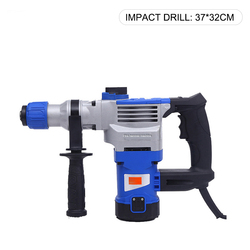 Multifunctional Industrial Decoration Electric Pickaxe Industrial Grade High Power Impact Drill Electric Drill Decoration Home
