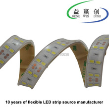 40M/Lot DC24V led strips SMD5630 strip light and double rows flex with 15mm PCB board for home lights