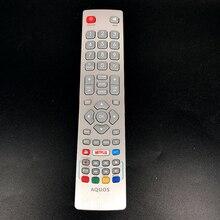 جهاز تحكم عن بعد تلفاز شارب أكوس DH1901091551 مع تلفاز نيتفلكس تيليكوم يوتيوب