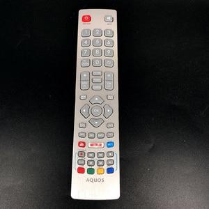 Image 1 - Genuine for sharp aquos tv remote control DH1901091551 With YouTube NETFLIX telecomando tv