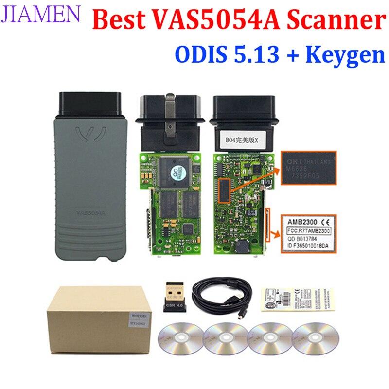 2020 Best Quality vas 5054a ODIS V5.1.3 Bluetooth AMB2300 Chip 6154 odis 5.1.3 5054A UDS Full Chip For VW/AUDI Diagnostic Tool