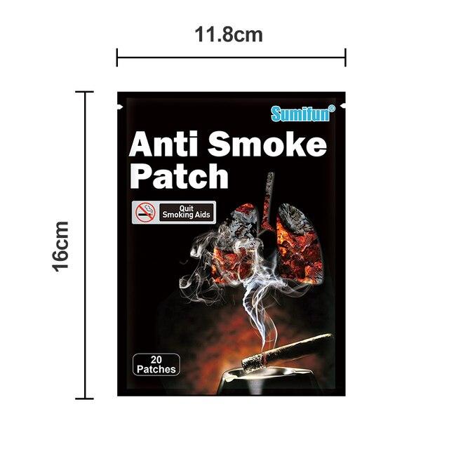 Фото 40 шт/лот отказ от курения 100% натуральный ингредиент анти