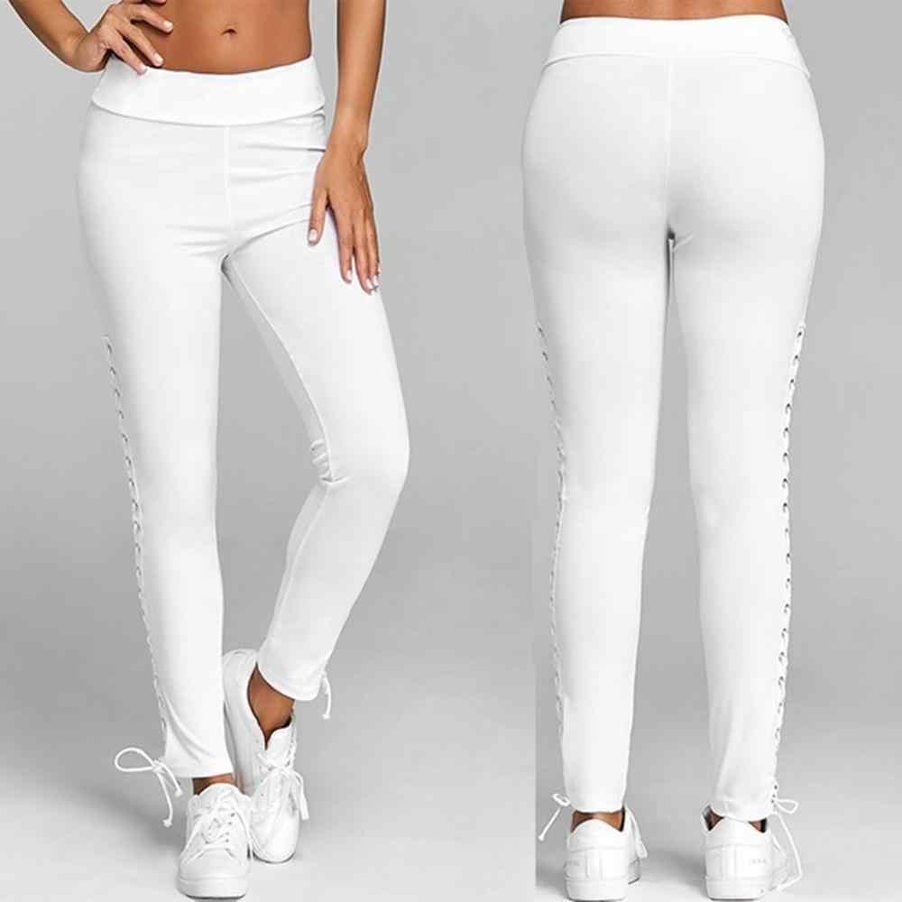 2019 Fashion Hoge Taille Broek Slim Skinny Vrouwen Leggings Elastische Broek Jeggings Potlood Broek pantalones mujer #1001
