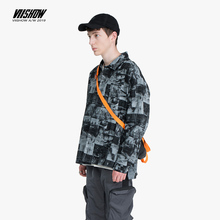 VIISHOW Fashion 2019 autumn cotton Jacket Men casual jeans clothing Streetwear Jackets Hip Hop Denim jacket male Coat  JC1794193