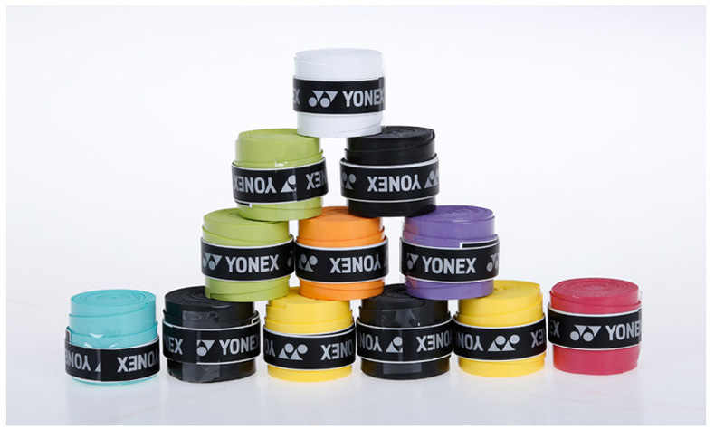 Genuine Yonex Anti-slip Breathable Sport Over Grip Sweat Band Griffband Tennis Overgrip Tape Badminton Racket Grips Sweatband