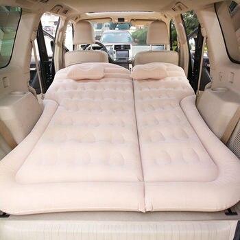 Colchón inflable de viaje para coche de E-FOUR, cama de aire para Camping, cojín móvil dedicado, extensor al aire libre para SUV, asiento trasero, maletero, campamento