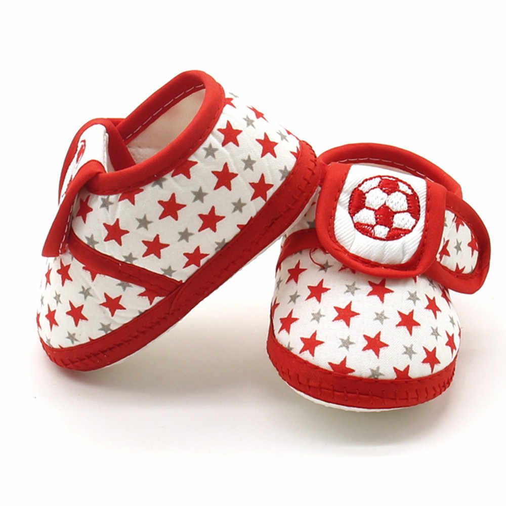 Baby Booties Newborn Shoes Infant Star Girls Boys Soft Sole Prewalker Warm Flats Shoes Crib Footwear Scarpe Bambino First Walker