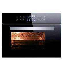 Встраиваемая микроволновая печь, кухонная домашняя печь для выпечки и приготовления на пару, кубическая электрическая интеллектуальная печь с управлением на пару