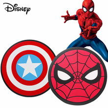 Disney 35 centímetros Escudo Collectible Toy Modelo Avengers Alliance Capitão América Escudo do Miúdo spiderman Brinquedo Fantoches Modelo EVA(China)