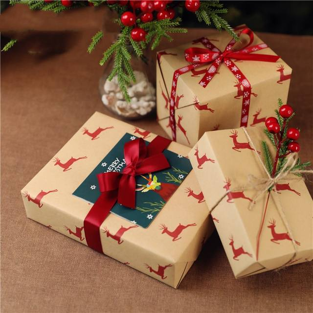 Christmas Printed Wrapping Paper