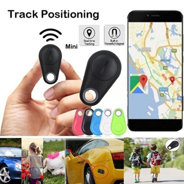 New Smart Wireless 4.0 Key Anti Lost Finder Tracker Car Alarm GPS Locator Wireless Positioning Wallet Pet Key Auto Accessories 1