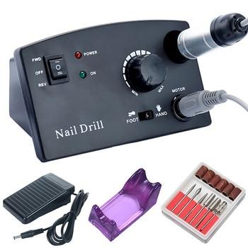 35000RPM Electric Nail Drill Machine Manicure Drill Machine Pedicure Drill Professional Nail Drill Machine Nail Salon Drill Tool