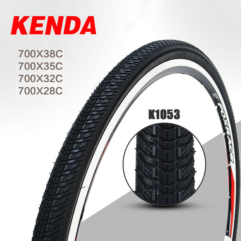KENDA <font><b>Bicycle</b></font> Tires 700 Road Bike Tire <font><b>700C</b></font> 700*28C / 32C / 35C / 38C Outer Tube 85PSI City <font><b>Bicycle</b></font> <font><b>Wheel</b></font> Tyre Tires image