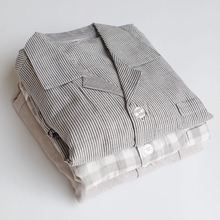100% cotton  good quality Pyjamas Men Sleep Wear For Man Sleeping Clothes 1316