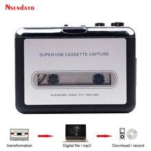 USB كاسيت لاعب الشريط إلى MP3 محول التقاط محول الصوت مشغل موسيقى الشريط USB كاسيت مسجل ومشغل