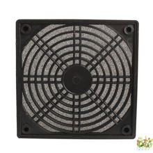 Black Dustproof ABS Plastic Multipurpose Protector Cover Mesh Case Fan Dust Filter For PC 120 X 120(China)