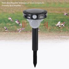 Horn Bird Repeller Waterproof Environmentally Friendly Bird Repeller Ultrasonic Animal Control Without Battery horn bird repeller waterproof environmentally friendly bird repeller ultrasonic animal control without battery