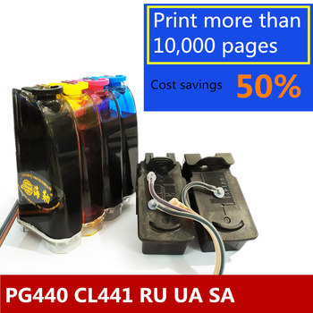 PG 440 CL441 Upgrade continuous ink supply system For Canon PIXMA MG3540 MG3640 MG4240 MG3640 MG2140 MG4140  MX438 518 378 MX438