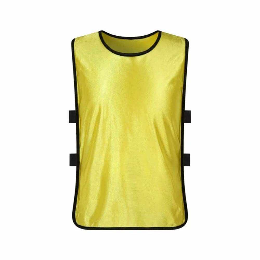 Chaleco deportivo de fibra de poliéster para niños de 47X33 cm, cómodo Chaleco de entrenamiento de fútbol, ropa de uniforme de entrenamiento Juniors