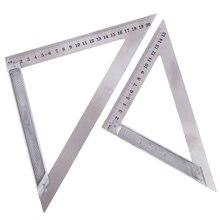 Треугольная линейка из нержавеющей стали 90 градусов 150/200