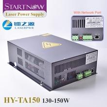 Startnow fuente de alimentación láser HY TA150 para máquina de corte láser, piezas de repuesto, 130W, 150W, 110 W, CO2, HY TA150, fuente 220/V, PSU