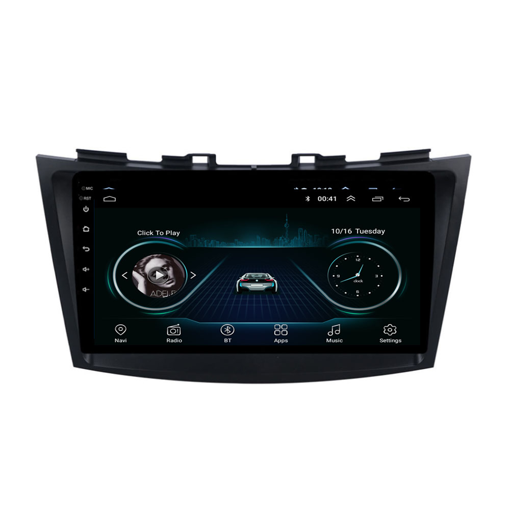 4G LTE Android 8.1 For SUZUKI SWIFT 2010 2011 2012 2013 2014 - 2016 2017 Multimedia Stereo Car DVD Player Navigation GPS Radio