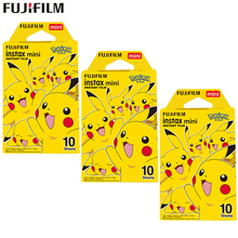Fujifilm Instax Mini Film Instax Mini 8 9 Pokemon Pikachu Film dla Fuji Mini 7s 25s 26 70 90 aparat natychmiastowy udział SP-1 SP-2 tanie tanio Instax Mini 9 Color Film JP (pochodzenie) New Pokemon Pikachu Pattern 1 2 3 Pack (10 sheets per Pack) Instax Mini 7s 25 50s 8 90 70 9 Hello Kitty Camera