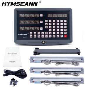 Complete-Set Readout Dro Digital Linear-Scales Milling/Lathe/drill-machine with 3pcs