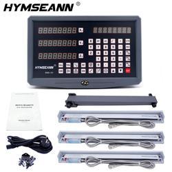 Полный набор фрезерных/токарных/сверлильных станков dro, цифровая индикация с 3 линейными весами, бесплатная доставка