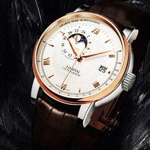 LOBINNI Japan Movement Automatic Watch Men Tend Business Men