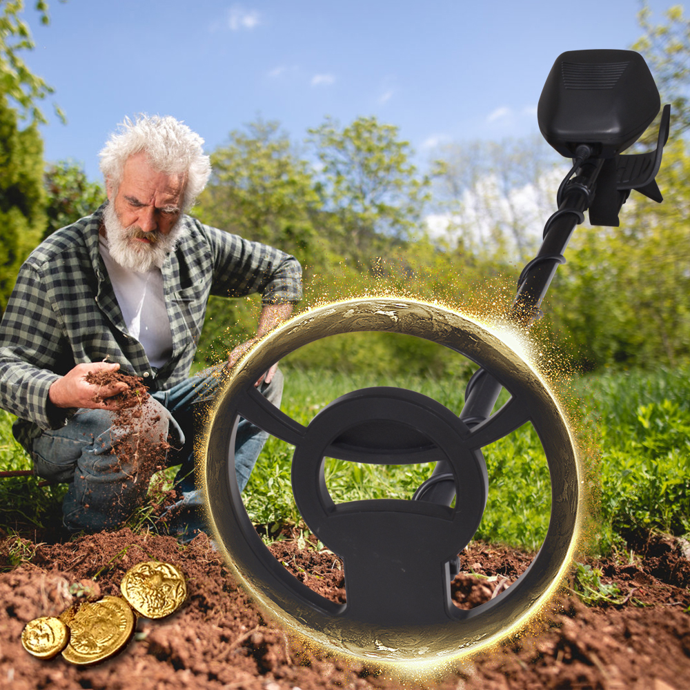 ouro ajustável localizador caçador de tesouros seeker