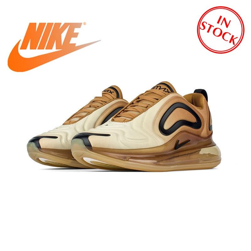 Original autêntico nike air max 720 tênis de corrida masculino sapatos esportivos ao ar livre tendência moda resistente ao desgaste respirável AO2924-700