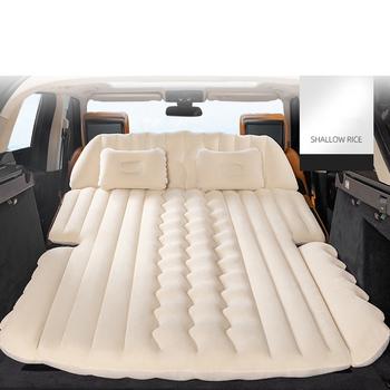 Nadmuchiwany materac samochodowy SUV nadmuchiwany samochód wielofunkcyjny samochód łóżko nadmuchiwane akcesoria samochodowe łóżko nadmuchiwane towary podróżne tanie i dobre opinie CN (pochodzenie) Flokowana tkanina 120 cm * 29 cm